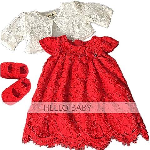 HELLO BABY -  Abitino  - linea ad a - Senza maniche  - Bebè femminuccia