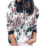 Rosennie Damen Mode Lange Ärmel Spitze Blazer Anzug Beiläufig Jacke Mantel Herbst Winter Langram Bluse Outerwear (Blau A,M)