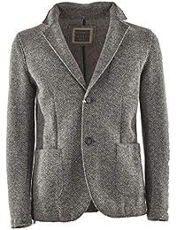 Amazon.it  giacca lana uomo - Grigio   Giacche   Giacche e cappotti ... 892a124f870