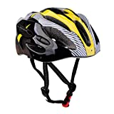 #2: Segolike Cycling Bicycle Helmet Honeycomb Type Mountain Bike Racing Breezier Helmet Unisex Adult Safety Protective Yellow Free Size Breather Durability Comfortable Cool