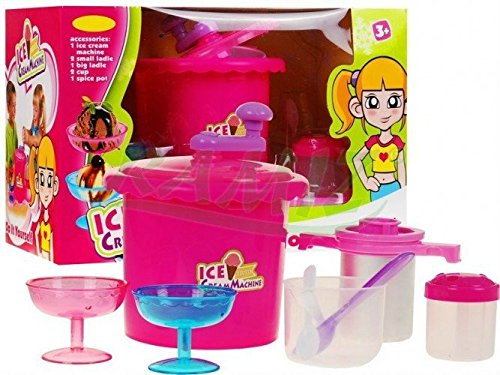 Maker Cream Spielzeug-ice (Ice Cream Maker Set 661-151 - Eis Maschine für Kinder - Eiscreme Spielset)