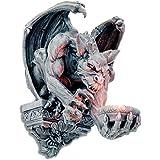 Pared portavelas Gothic figura de gárgola–-31,5cm