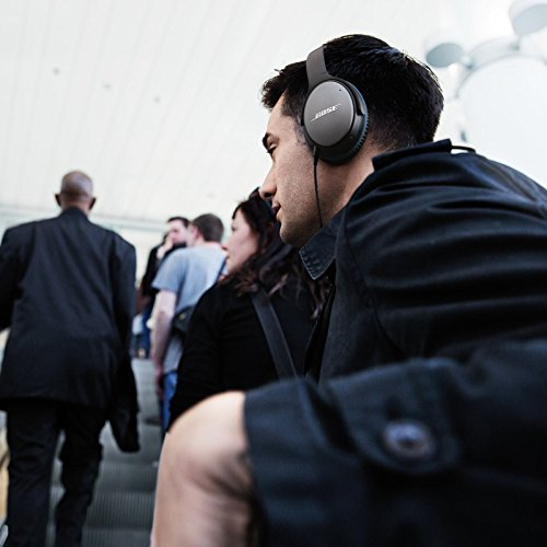 Bose QuietComfort 25 Acoustic Noise Cancelling Kopfhörer (geeignet für Apple-Geräte) schwarz -