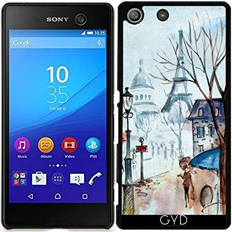 Coque pour Sony Xperia M5 - Paris France Eiffel Tour by UtArt
