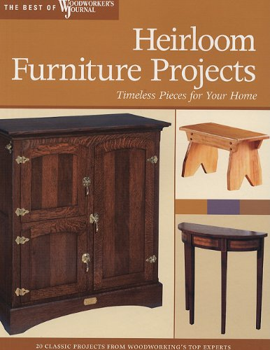Heirloom Furniture Projects: Timeless Pieces for Your Home: Timeless Projects for Your Home (Best of