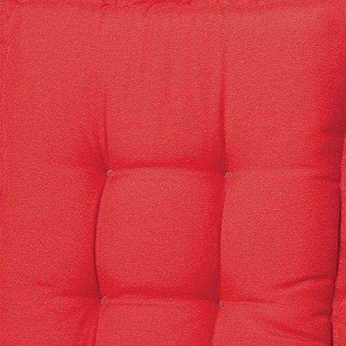 Bankauflage 140cm Panama Red B220, 140 X 48 X 6cm