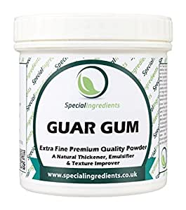 Special Ingredients Guar Gum Powder 100g Premium Quality Extra Fine Gluten Free