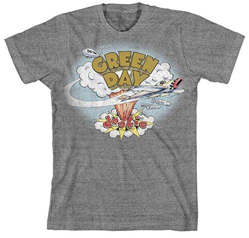 Green Day Dookie Album Cover Rock Music Punk offiziell Männer T-Shirt Herren (Small) (Album-cover Tee)