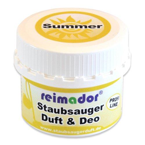 reimador Staubsaugerduft Summer - eine frische und fruchtige Duftnote nach Sommeraromen mit Profi Geruchsvernichter als Lufterfrischer beim Saugen 100 ml