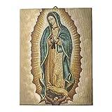 Holyart Quadro su Tela pittorica Madonna di Guadalupe 40x30 cm