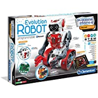 Clementoni Evolution Robot Robot - Juguetes de Control Remoto (530 mm, 90 mm, 360 mm, 2,41 kg, Caja)