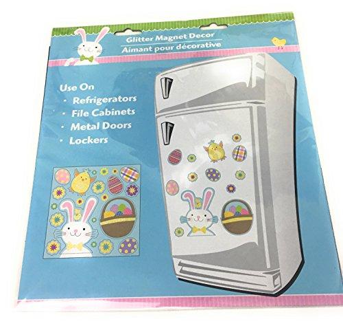 Ostern Bunny Glitter Magnet-Set von - Kostüm Kinder Eingefroren