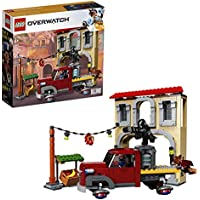 LEGO 75972 Overwatch Dorado Showdown Playset with Dorado-style building, Truck and Soldier: 76, Reaper, McCree Minifigures