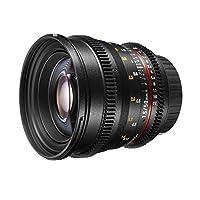 Walimex 20402 lente de cámara SLR Negro - Objetivo (SLR, 9/6, 0,45 m, Ca...