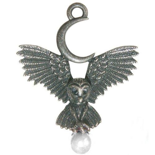 24-Trendshop Flug der Göttin Anhänger Amulett Talisman Greenwood - Erkenntnis und Wissen