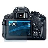 atFoliX Displayschutzfolie für Canon EOS 700D / Rebel T5i Schutzfolie - 3 x FX-Clear kristallklare Folie