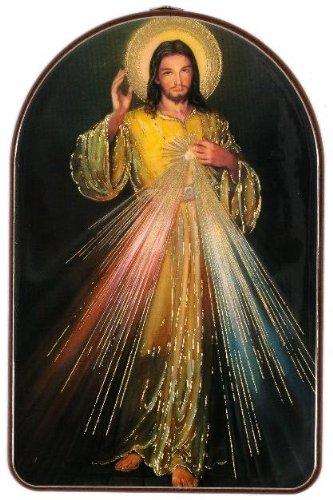 Diseño de Cristo de la Jesús con texto en inglés. Divina Misericordia imagen Religiosa diseño con texto en inglés