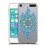 Head Case Designs Offizielle Micklyn Le Feuvre Super Blau Boho Soft Gel Hülle für Apple iPod Touch 6G 6th Gen