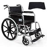 Rollstuhl Komfortable Multifunktionale Leichte Faltende Transportreisen Selbstfahrende Tragbare Manuelle Ältere Behinderte Reise-Rollstuhl Mit Bettkasten (Material : B)