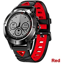 ZCPWJS Pulsera Inteligente G01 GPS Smart Watch Hombres IP68 Impermeable  Presión Arterial Bluetooth Reloj de Pulsera 187c098cb4d6