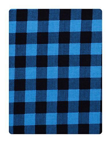 Nakoda Creation Men\'s Cotton Shirt Fabric (Blue)