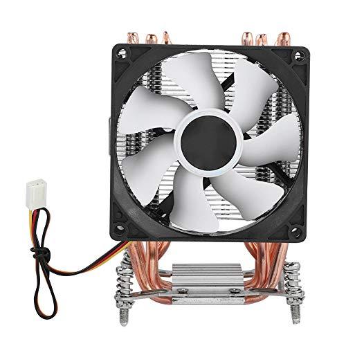 Redxiao CPU-Kühler, 6 Heatpipe Leise Wärmeableitung Hoher Wirkungsgrad Geringer Stromverbrauch Praktischer Doppelturm-Lüfter(#2)