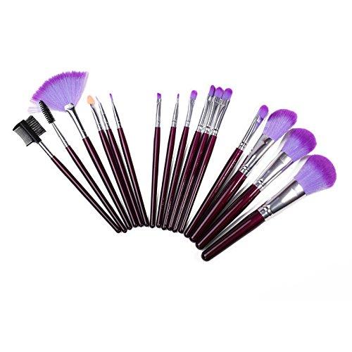 XUAN pinceaux de maquillage fard à paupières violet 16 set maquillage pinceau maquillage professionnel beauté