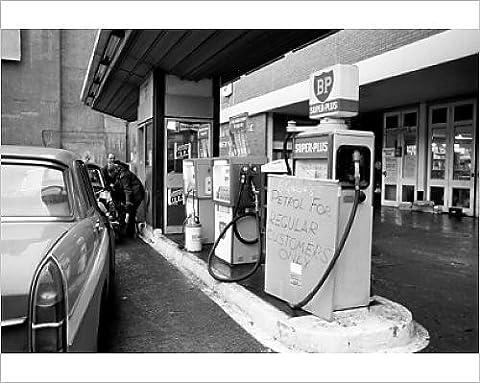 Photographic Print of Transport - Fuel Crisis - Oil Tanker Drivers Strike - Charterhouse Service
