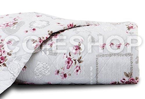 Letto Rosa Claudine : Cestino in metallo lavette spugna cotone rosa bianco