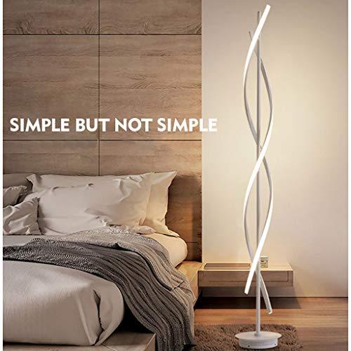 Lampadaires- Une variété de styles Line Lampadaire Simple Moderne LED Standard Lampe Liseuse Nordic Creative Vertical Lampe De Table (Couleur : B)