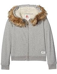 Unbekannt Mädchen Kapuzen-Sweatshirt Full Zip Sweater Fur