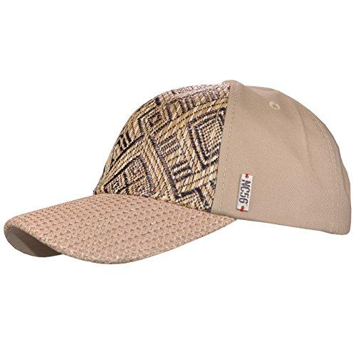 NC 56 - Damen & Herren - Baseballcap Basecap Schirmmütze Kappe Cap Sonnenschutzcap - 7565 (Beige) (Nc-baseball-mütze)