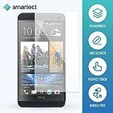 1x Protection d'Écran en Verre Trempé pour HTC One M7 de smartect® | Film Protecteur Ultra-Fin de 0,3mm | Vitre Robuste avec 9H de Dureté et Revêtement Anti-Traces de Doigts