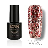 Rosalind 7ml Diamond Glitter Gel Nagellack für Nagelverlängerung Primer Top UV LED Gel Lack Design Manicure Art