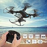 Haihuic A6 Altitude Hold Fernbedienung Drohne ohne Kamera, One-Click-Return, Not-Aus, Fernbedienung Quadcopter mit Headless-Modus für Anfänger
