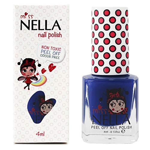 Miss Nella COOL KID- Esmalte azul especial uñas niños