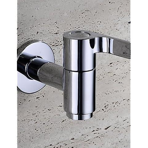 La DGPS Bibcock in laiton chromé contemporain semplice parete froide Mop piscine tarauds machine à