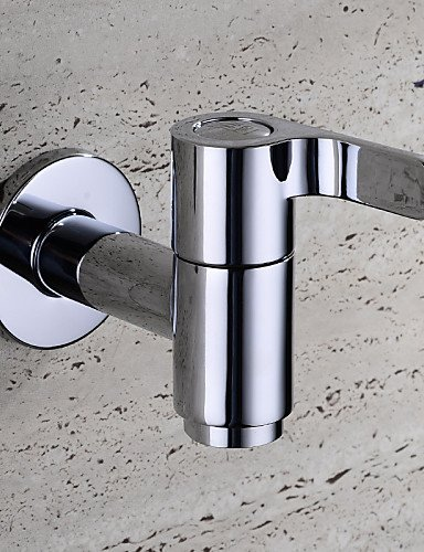 JINROU LUXURY HOME GRIFOS HPB CONTEMPORANEA CROMADO LATON BIBCOCK SINGLE FRIOS MURO MOP POOL LAVADORA TAPS