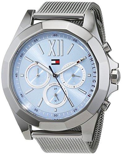 tommy hilfiger multi-quadrante quarzo orologio da polso 1781846