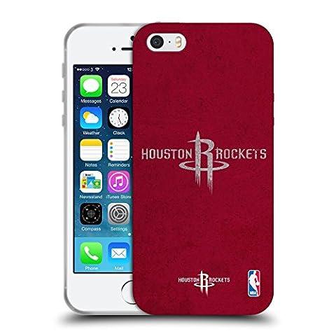 Coque Iphone 5 Nba - Officiel NBA Affligé Houston Rockets Étui Coque