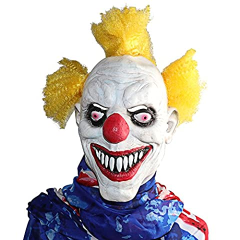 XIAO MO GU Halloween Horreur Rubber Mask Masque Clown Carnaval Costume Party