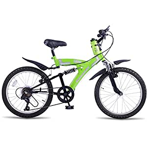Hero Sprint Elite 20T 6 Speed Junior Cycle (White/Green)