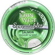 John West Yoghurt and Mint Spreadables Salmon, 80g