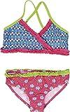 Playshoes Mädchen Zweiteiler Bikini Blumen, UV-Schutz nach Standard 801 und Oeko-Tex Standard 100, Gr. 110 (Herstellergröße: 110/116), Mehrfarbig (original 900)