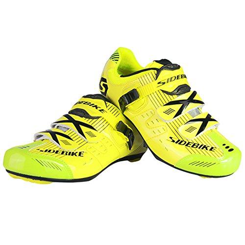 Fastar Herren 's Professional atmungsaktiv Road Race Fahrradschuhe Rennrad Schuhe Mountain Bike Running Schuhe