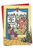 C6243 x sg-b12 x 1 Packung 12 'aufblasbar' Hilarious Weihnachtskarte mit der überraschenden Storm-Gartenspielzeug, mit Umschlägen
