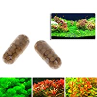 yhdcc44 40 Pcs Aquatic Plant Fertilizer,Water Root Condensed Fertilizer Aquarium Fish Tank