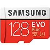 Samsung Mo de mc128ga/AMZ Carte mémoire, 128 Go Transparent