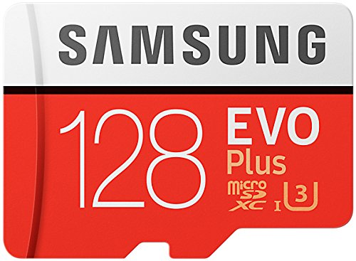 Samsung MicroSDXC - Tarjeta de memoria de 128 GB - Amazon Exclusive Packaging