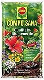Compo - 11121 - Sana, Terriccio per Piante da Fiore di Alta qualità, 5 l